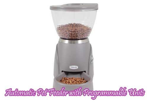 Automatic Pet Feeder with Programmable Units