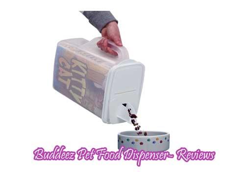 Buddeez Pet Food Dispenser- Reviews