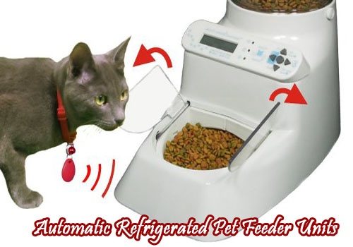 Automatic Refrigerated Pet Feeder Units Pet Food Dispenser