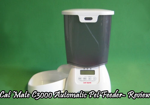 Cat Mate C3000 Automatic Pet Feeder- Review