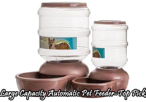 Large Capacity Automatic Pet Feeder-Top Picks